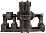 Machine dynamo-électrique type Edison