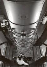 Colonne du microscope à très haute tension - Laboratoire d'optique électronique