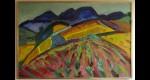 Peinture sur toile de Pierre Ambrogiani