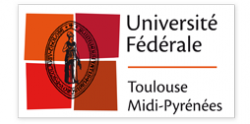 LOGO UFTMP Université Fédérale Toulouse Midi-Pyrénées