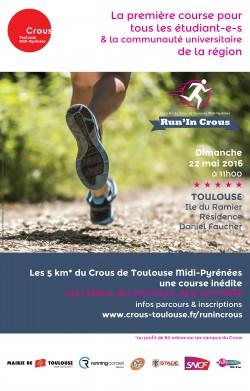 Première édition de Run'in Crous