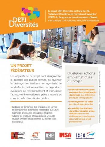 flyer IDEFI Diversités