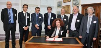 signature du Consortium Toulouse Ingénierie