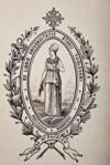 Emblème de l'université de Toulouse 1896