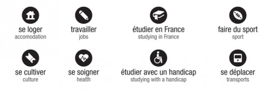 les services de l'Accueil - Welcome Desk