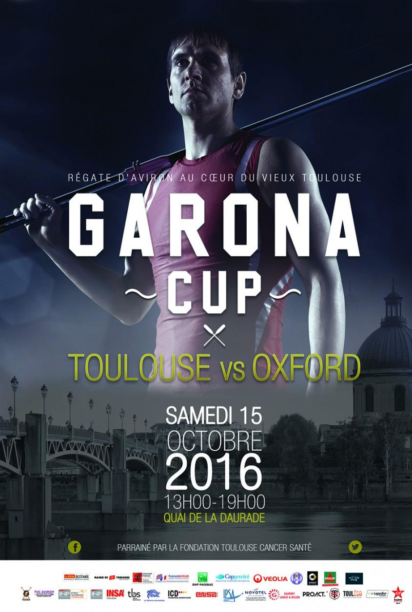 Garona Cup 2016, la régate étudiante toulousaine