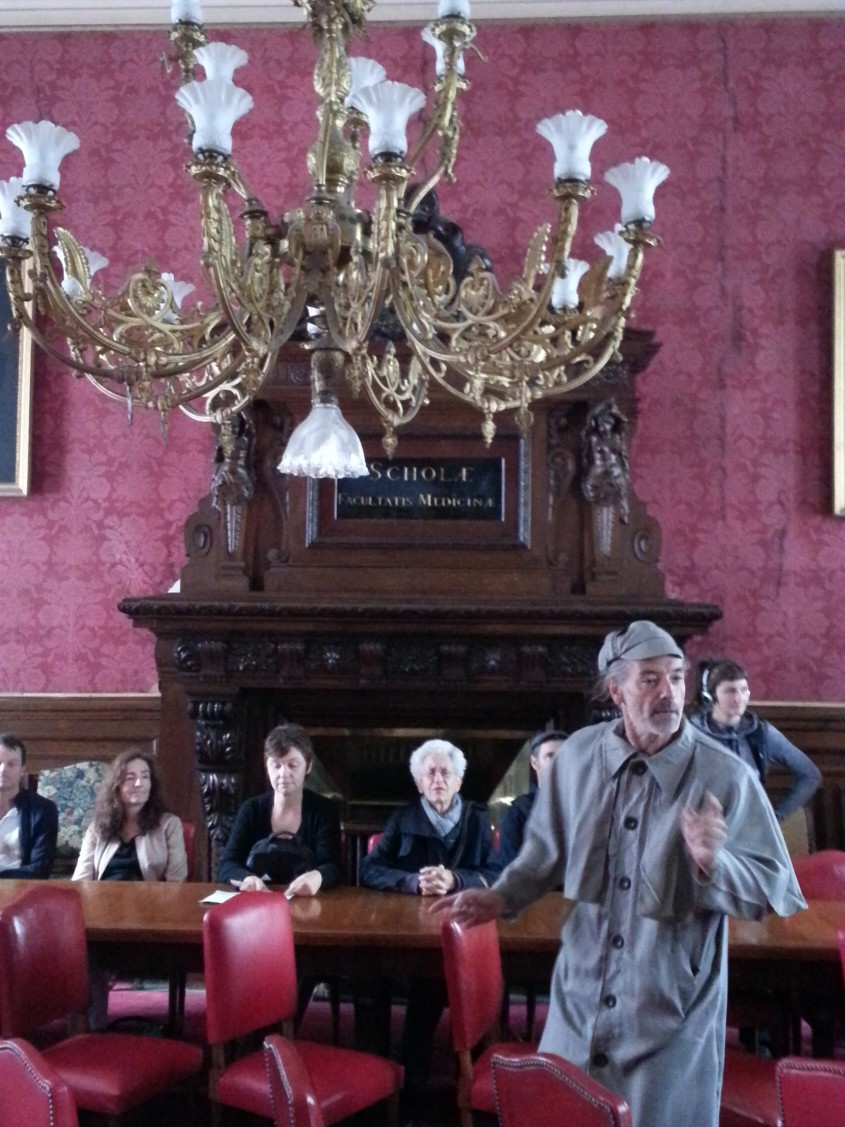 Fabrice Guérin, comédien  © Sandrine Tomezak