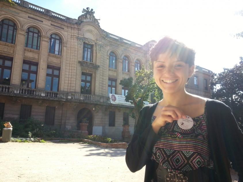 Lucile Jalabert, guide  ©Sandrine Tomezak
