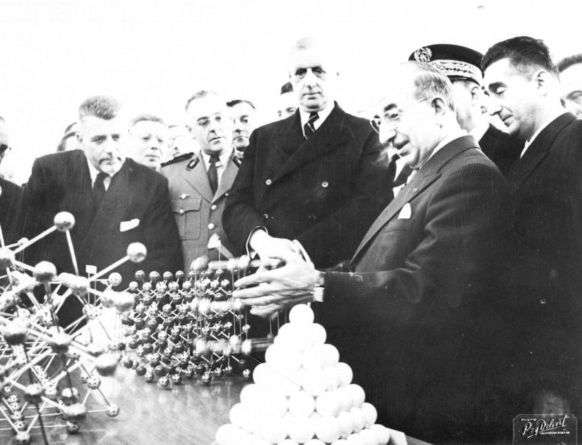 Dupouy et De Gaulle