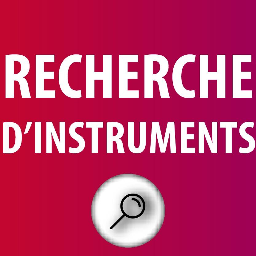 Recherche d'Instruments